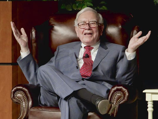 AP BUFFETT LETTER F FILE USA NE