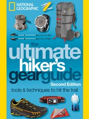 """The cover for """"The Ultimate Hiker's Gear Guide."""""""