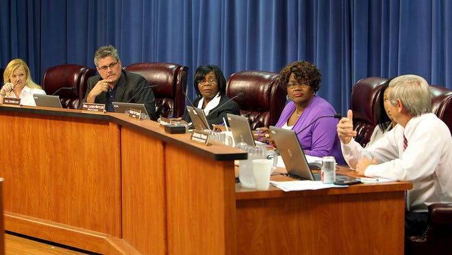 The Leon County School board voted to approve a construction bid for a project at Lively Technical Center during Tuesday's meeting.