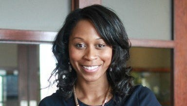 Jasmin Shaheed-Young is director of corporate and community relations for Keystone Construction.