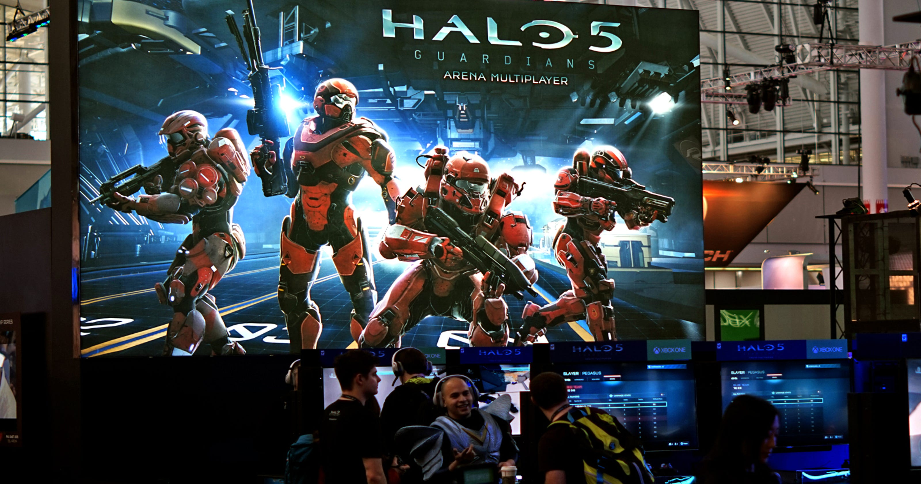 An early look at Halo 5: Guardians multiplayer