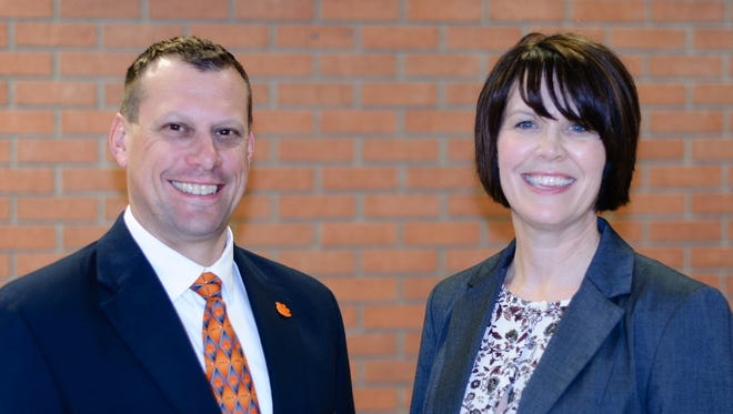 Psychology professor Eric Muth has been named associate dean for research and graduate studies; and parks, recreation and tourism management professor Denise Anderson will serve as associate dean for undergraduate studies.