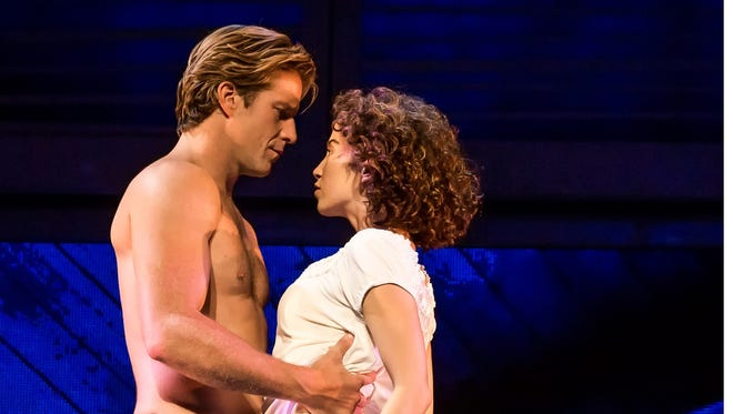 "Christopher Tierney and Bronwyn Reed star in the national tour of ""Dirty Dancing,"" which will come Nov. 4 to 6 to New Brunswick's State Theatre."