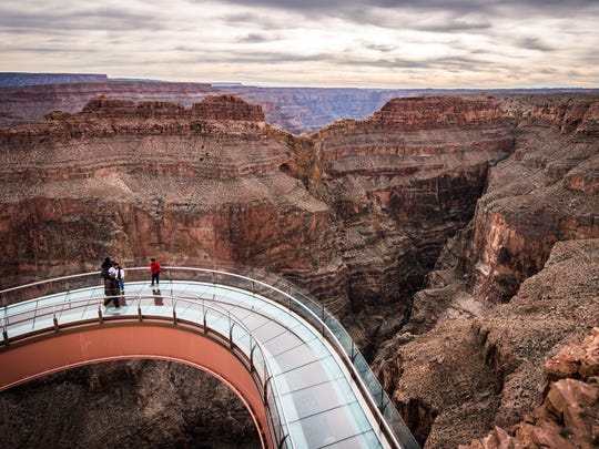 The ultimate way to view the breathtaking beauty of the Grand Canyon is the Grand Canyon Skywalk.