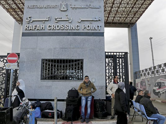 Egypt Gaza Crossing