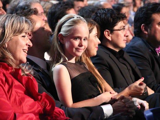 La pequeña actriz Loreto Peralta recibió muchas distinciones