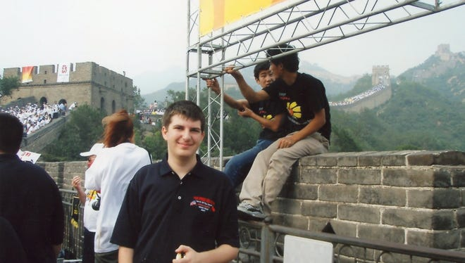 As a Palm Springs High School student, Andrew Deeds seized opportunities to have a cultural and educational experience, including a school-related trip to China.