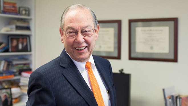 Jimmy Cheek is stepping down as chancellor to return to teaching.