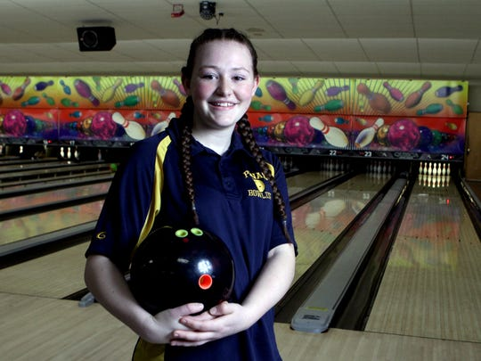 Samantha Mills of Walter Panas, photographed April 1, 2017, is the Westchester/Putnam girls bowler of year.
