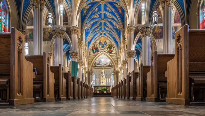 The Basilica of the Sacred Heart at Notre Dame is the spiritual heart of the University of Notre Dame.
