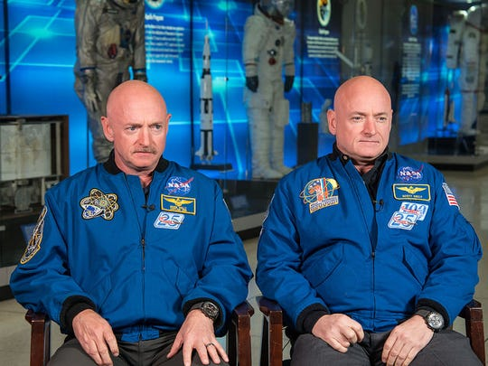 Astronaut Scott Kelly (right) along with his brother, former Astronaut Mark Kelly (left.)