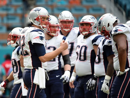 1. Patriots (1): Week 17 unfolded perfectly for them.