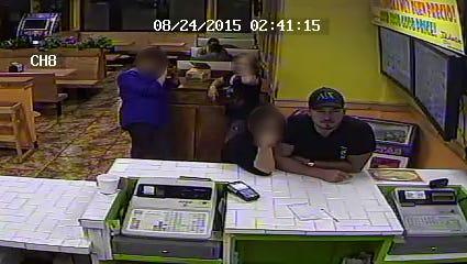 Phoenix police released a photo of Julioberto's shooting suspect.