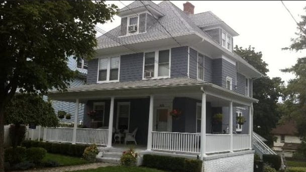 Childhood home of Norman Rockwell, the famous artist who lived in Mamaroneck at the turn of the 20th century.