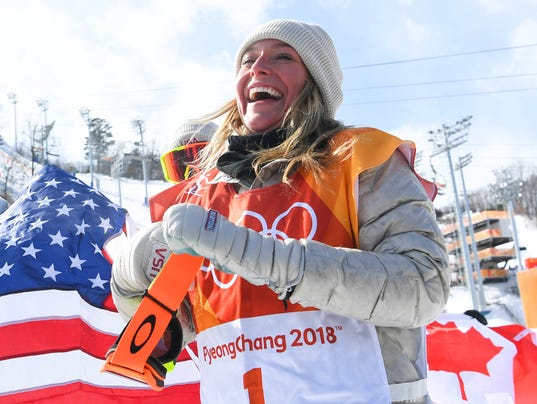 Olympics: Snowboard-Womens Slopestyle Final