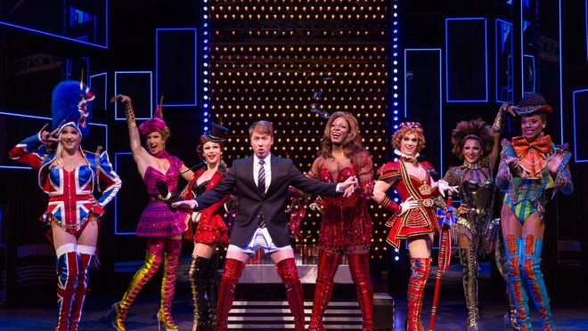 Kinky Boots is being staged at the Auditorium Theatre through Sunday.