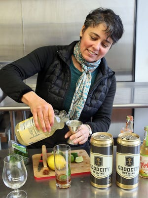 Mary Pellettieri is co-founder of Top Note Tonics which is moving production of its non-alcoholic sparkling mixers and tonics to Octopi Brewing Co., in Waunakee.