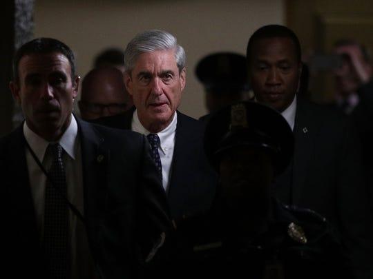 Robert Mueller, fiscal especial en la investigación sobre infiltración de Rusia en las elecciones.