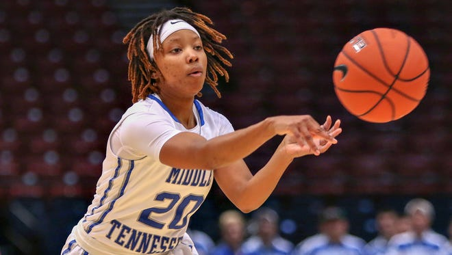MTSU's Ty Petty was named MVP of the Conference USA Tournament last year in Birmingham.