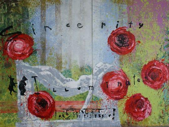 """""""Sincerity Illuminates,"""" a painting by Walter Knabe."""