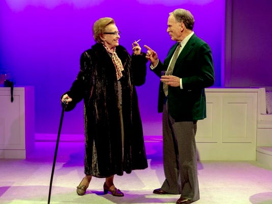 Theater Review Hellman v McCarthy