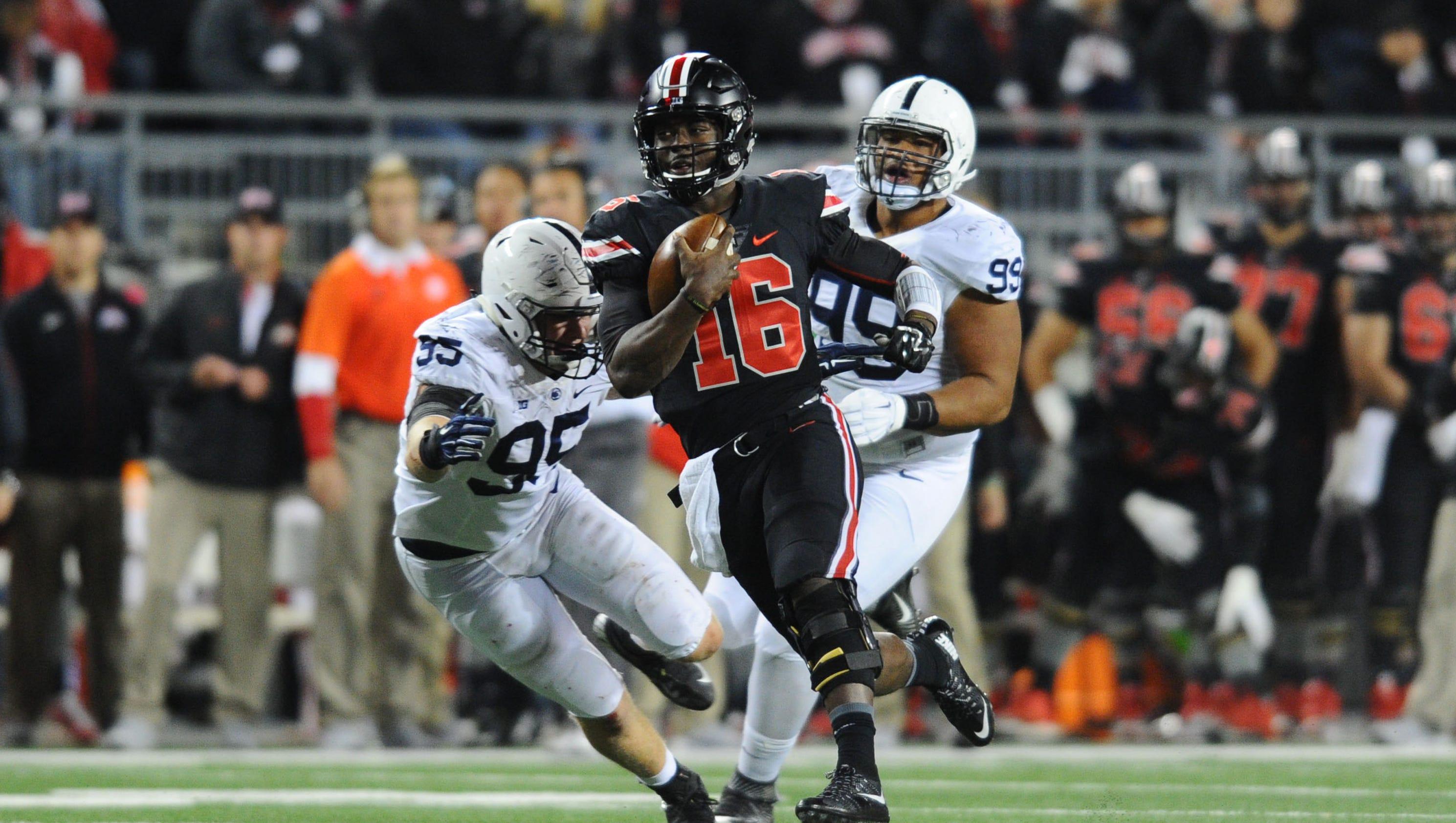 top 25 ncaa scores ohio state football spread