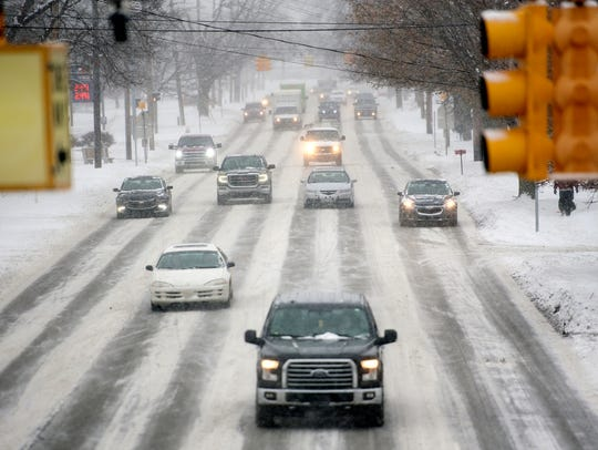 The frigid weather is not leaving the Lansing area anytime soon. The National Weather Service said a motorists should keep their vehicle stocked with a small shovel and blankets in addition to other items such as water and nonperishable food.