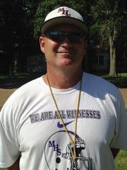 Marksville coach J.T. Dunbar