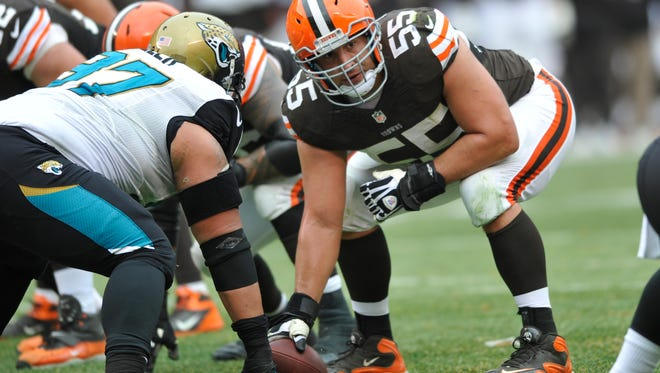 C Alex Mack was one of Cleveland's six Pro Bowlers in 2013.