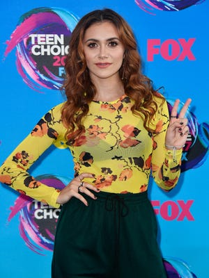 Alyson Stoner attends the Teen Choice Awards on Aug. 13, 2017 in Los Angeles.