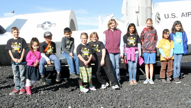 Pecos Connections Academy students visited the New Mexico Museum of Space History and White Sands National Monument Dec. 9. The New Mexico online school had about 24 students attend the field trip.