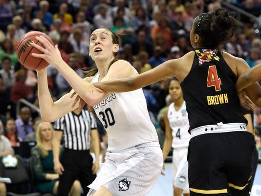 NCAA Womens Basketball: Final Four-Connecticut vs Maryland