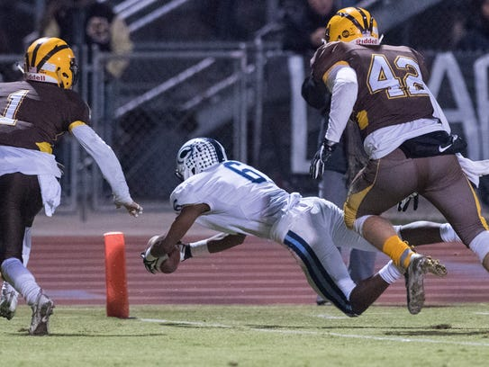 Central Valley Christian junior wide receiver Brian