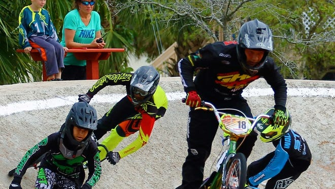 The Strausser BMX Sports Complex hosts state and national BMX competitions.