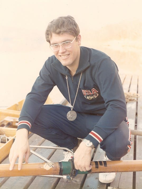 Tim Mickelson silver medal