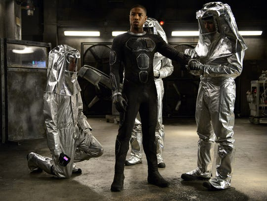 Michael B. Jordan plays Johnny Storm in 'Fantastic