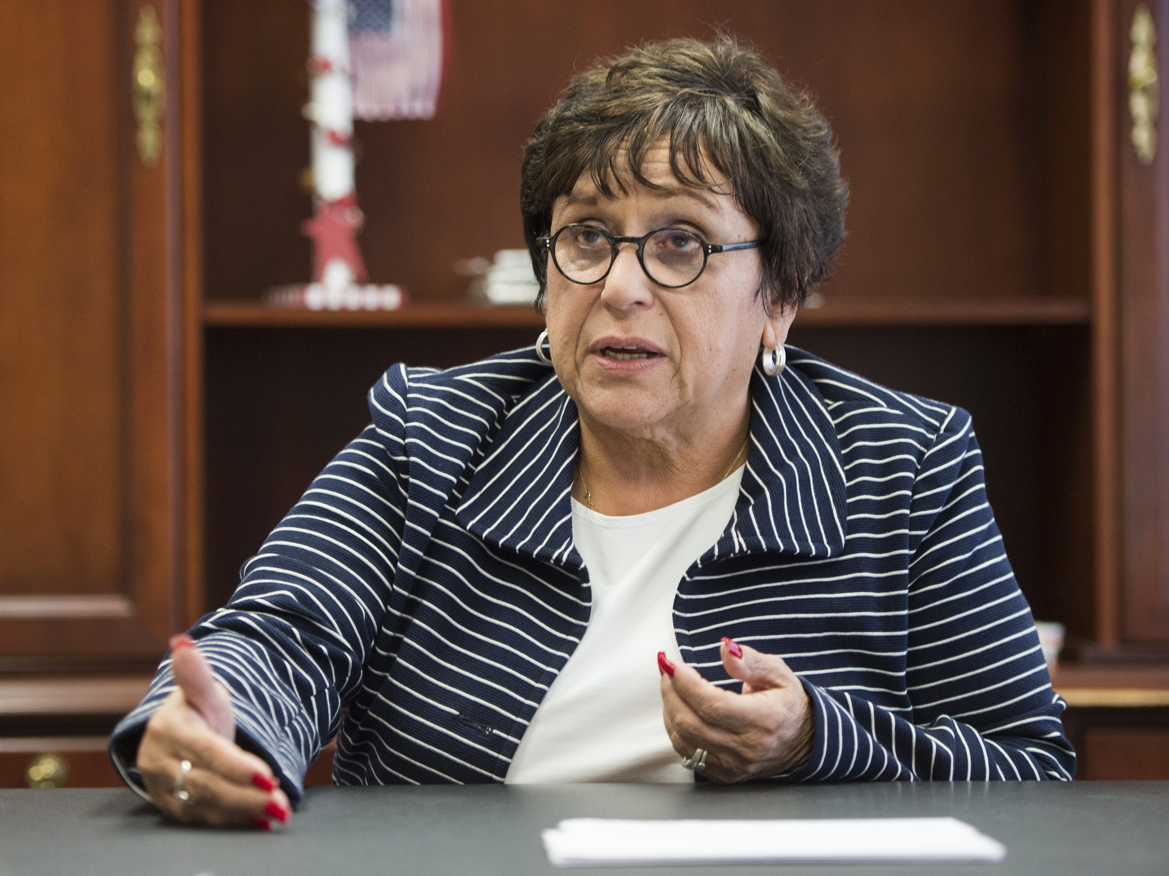 Former Broome County executive Barbara Fiala once championed