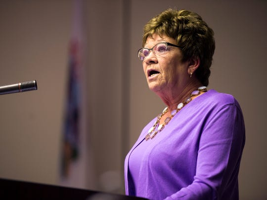 Broome County Executive Debbie Preston delivers her 2016 State of the County address  on March 1.