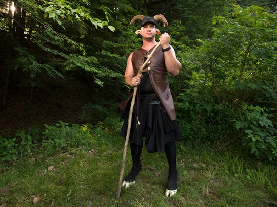 Dave Hurd, of Candor, has attended Faerie Fest for