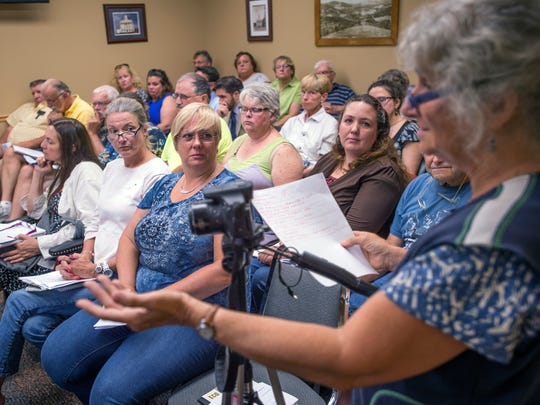 Concerned citizens packed Wednesday's Susquehanna County commissioner meeting to voice concerns about a proposed incinerator project at the Susquehanna County Courthouse in Montrose, Pennsylvania.