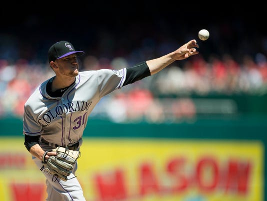 MLB: Game One-Colorado Rockies at Washington Nationals