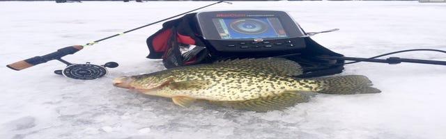 Hayward area fishing report for feb 21 for Oconto fishing report