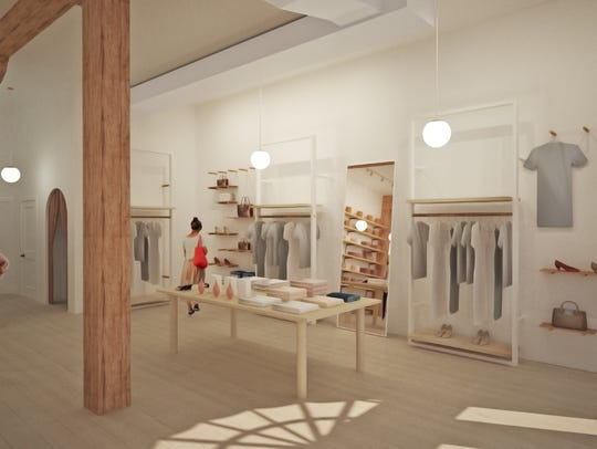 Renderings of At Land's interior. Rendering by: BWArchitects