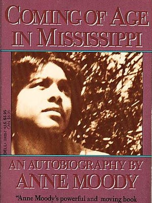 """Anne Moody wrote about growing up in her home state in """"Coming of Age in Mississippi."""""""