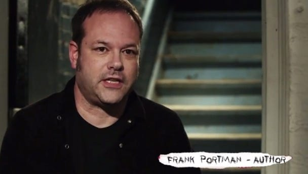 Frank Portman is a musician and the author of 'King Dork' and the upcoming 'King Dork Approximately.'