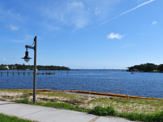 Turkey Creek, where it connects to the Indian River