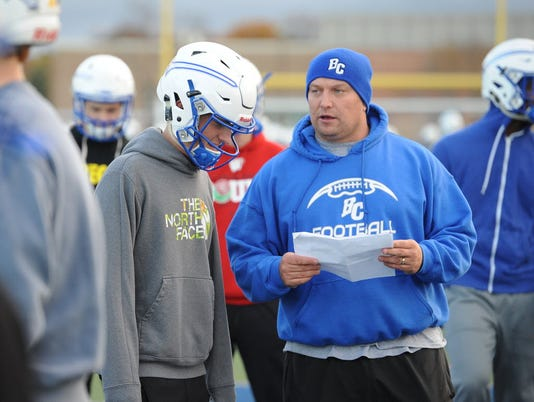 Jed Kennedy, Brookfield Central coach