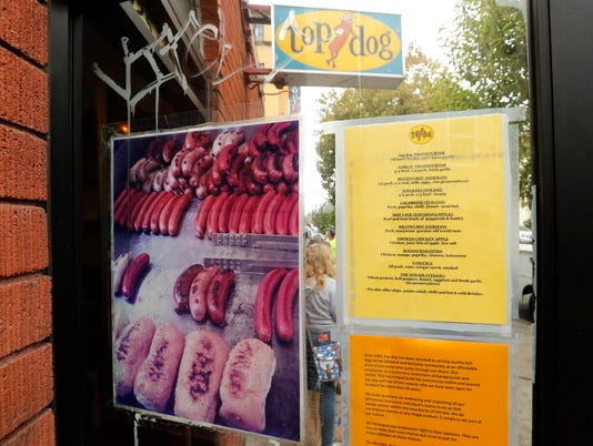 EPA USA BERKELEY HOT DOG CHAIN REACTION TO CHARLOTTESVILLE POL CITIZENS INITIATIVE & RECALL USA CA