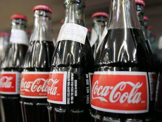 Even if she is eating healthy, sometimes columnist Karen Schloss Diaz still has a craving for a Coke.