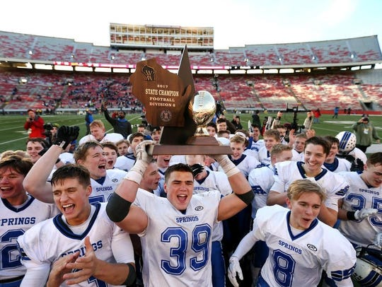 St. Mary's Springs is the reigning WIAA Division 6